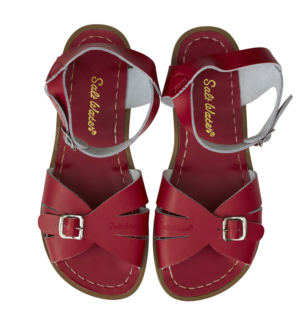 Salt Water Classic Shoes Adult Red - Global Free Style