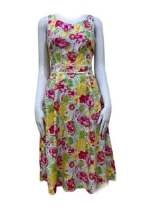 Sunny Girl Jan Floral Pink Dress - Global Free Style