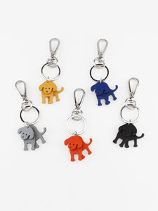 Tiger Tree Leather Keyring - Cat / Dog - Global Free Style