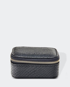 Louenhide Suzie Jewellery Box Snake Black - Global Free Style