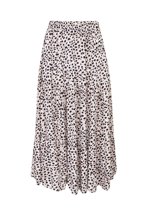 Sunny Girl Long Skirt Beige - Global Free Style