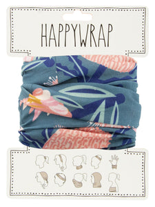 Annabel Trends Happy Wrap Aussie Flora Khaki - Global Free Style