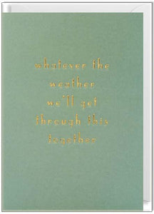 Waterlyn Card Whatever the Weather - Global Free Style