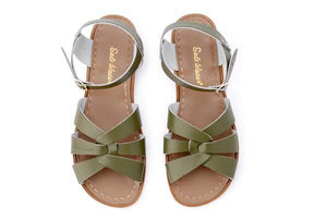 Salt Water Original Shoes Olive Green Adult - Global Free Style