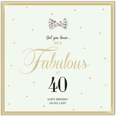 Hearts Designs Gift Cards Fabulous at 40 - Global Free Style