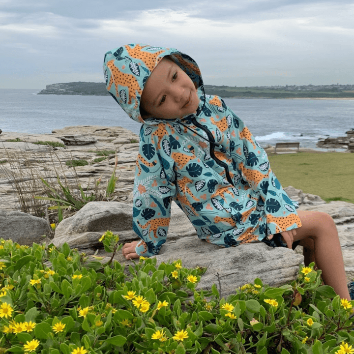 Monster Threads Raincoat Leopards Mint Kid - Global Free Style