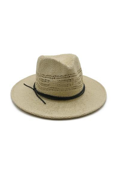 Morgan & Taylor Calixte Fedora - Natural - Global Free Style