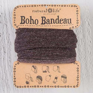 Natural Life Boho Bandeau Brown Tinsel - Global Free Style