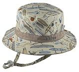 Baby Dozer Baby Boys Bucket Hat Koa Stone - Global Free Style