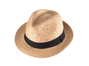 Kooringal Mens Fedora Hat Palm Springs Natural - Global Free Style