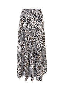 Ebby and I Safari Long Skirt Cheetah Print - Global Free Style
