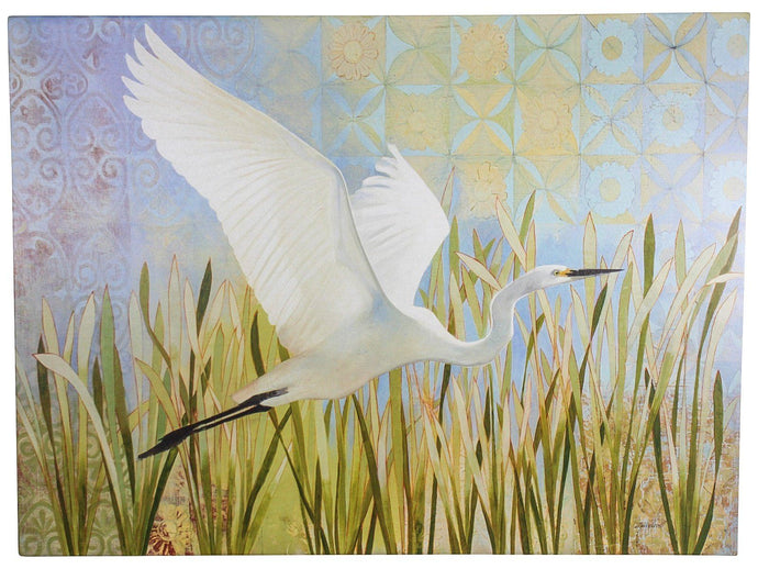 Lavida Canvas Heron Bird in Flight - Global Free Style