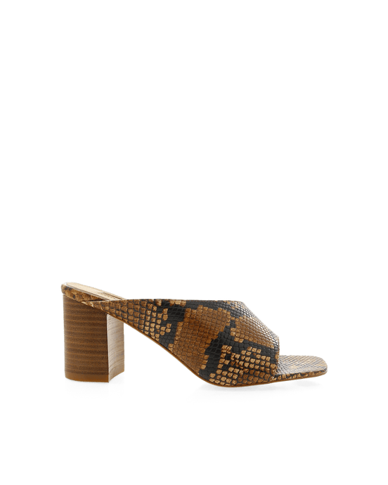 Billini Yohanna Tan Snake Shoes - Global Free Style