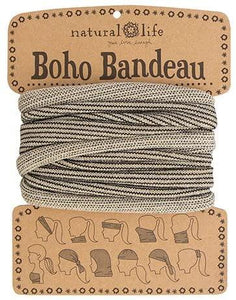 Natural Life Boho Bandeau Cream Tinsel - Global Free Style