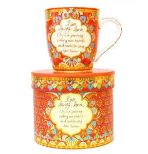 Intrinsic Live Laugh Love Mug