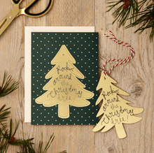 Katie Leamon Pop Out Card Christmas Tree - Global Free Style