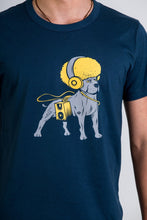 Skumi Mens T Shirt Dog Pound Navy Blue - Global Free Style