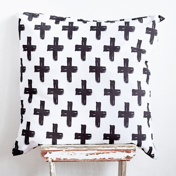 Cross Floor Cushion