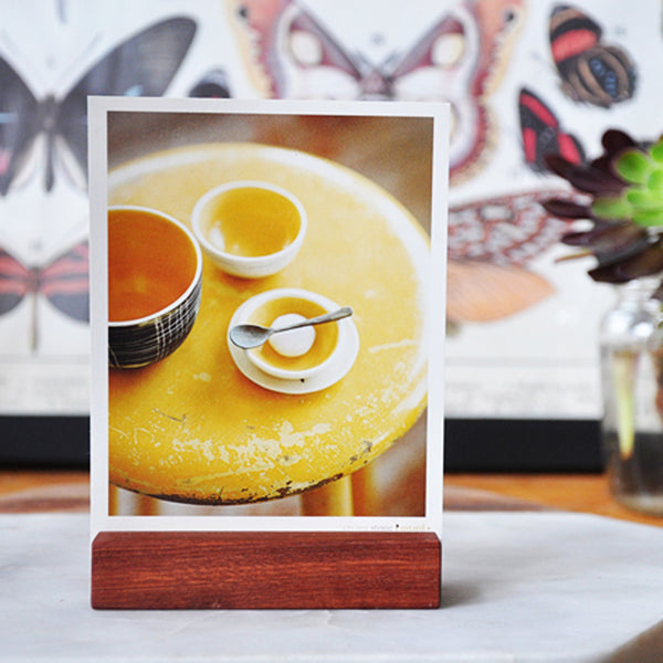 Magnetic Wooden Photo Holders