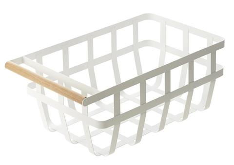 Yamazaki Tosca Storage Basket Single Handle