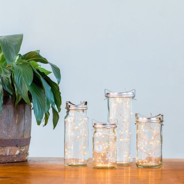 Vintage Preserving Jar Lanterns
