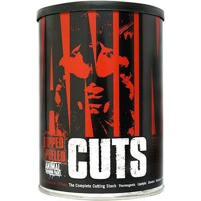 Universal Nutrition Animal Cuts Hardcore Fat Burner 42 Packs