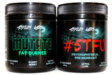 Asylum Labs 'Insanity Stack' #STFU Preworkout + Mutate Fat Burner