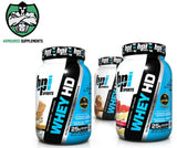BPi Whey HD Lean Protein Triple Pack 907g x 3 Mixed Flavours