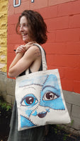 Tote Bag with Character