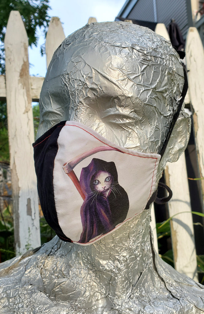 Handmade Fabric Art Masks