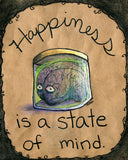 Inspirational Brain in a Specimen Jar