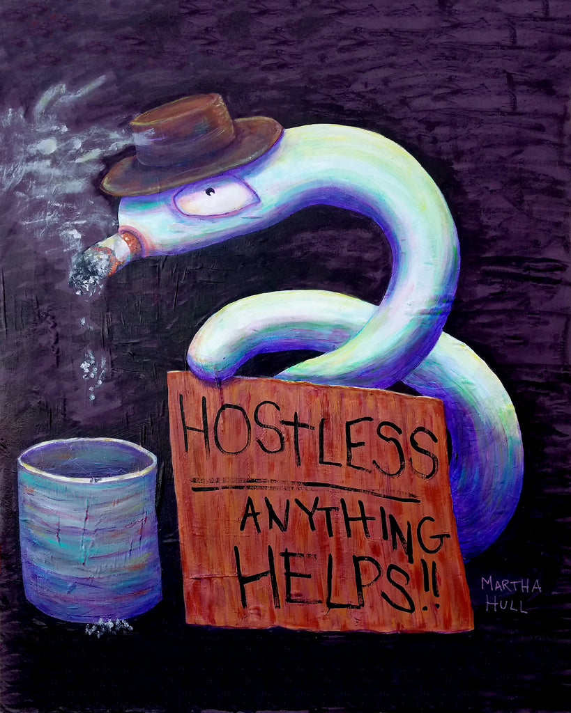Hostless, Anything Helps Worm Art