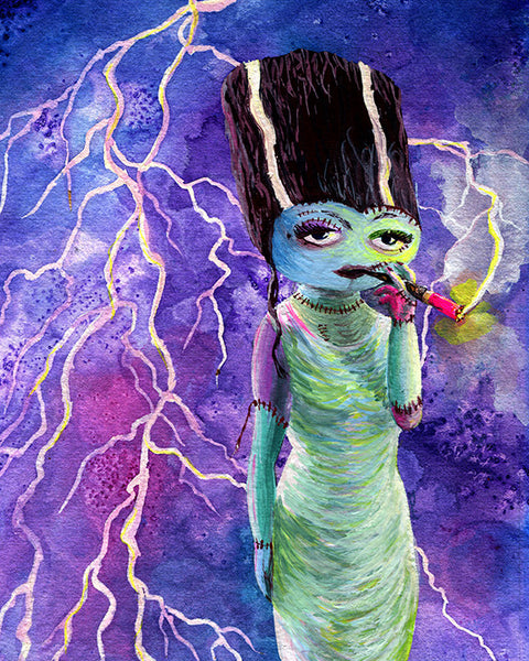 Bride of Frankenstein Art