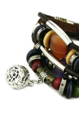 Aromatherapy Essential Oil Diffuser Jewelry- Necklaces and Bracelets