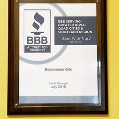 Destination Oils- Essential Oil BBB Better Business Bureau Accredited Company