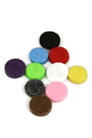 12.5mm Replacement Pads for 20mm Diffuser Necklaces- Set of 10-Diffuser Necklace-Destination Oils