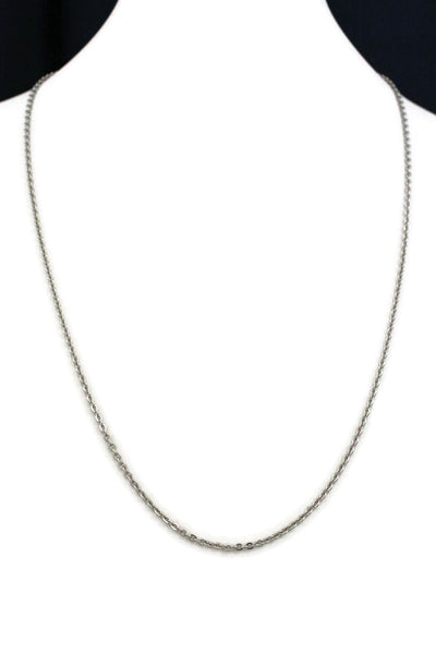 "24"" Stainless Steel Necklace Chain-Replacement Chains-Destination Oils"