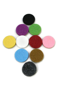 22.5mm Replacement Pads for 30mm Diffuser Necklaces- Set of 10-Diffuser Necklace-Destination Oils