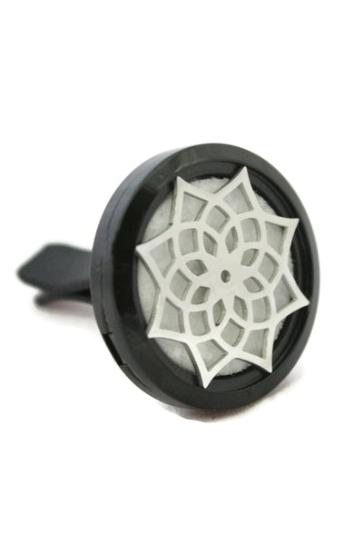Black Lotus Essential Oil Car Clip-On Vent Diffuser- 30mm-Car Diffuser-Destination Oils