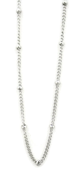"""Burst"" Filigree 316L Stainless Steel Diffuser Necklace- chain"