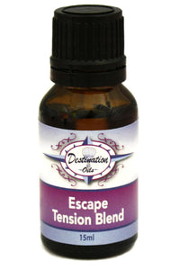 Escape - Tension/Headache Essential Oil Blend - 15ml-Essential Oil Blend-Destination Oils