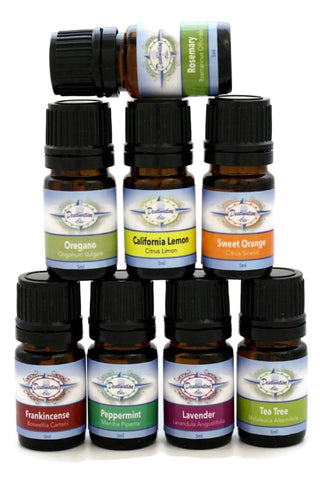 Starter Gift Set- Top 8 Essential Oils for Beginners- 5ml-Gift Sets-Destination Oils