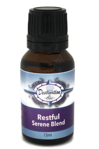 Restful - Serene Essential Oil Blend - 15ml-Essential Oil Blend-Destination Oils