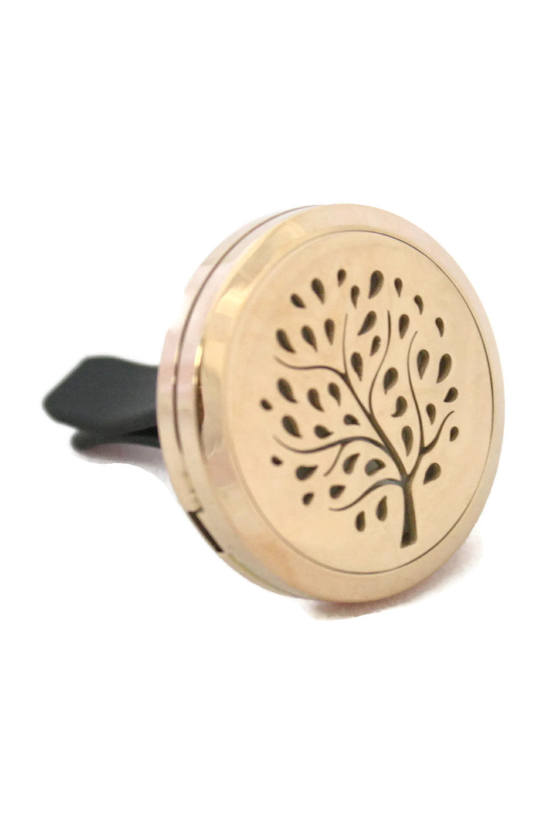 Willow Tree Rose Gold Auto Vent Clip-On Diffuser- 30mm-Car Diffuser-Destination Oils