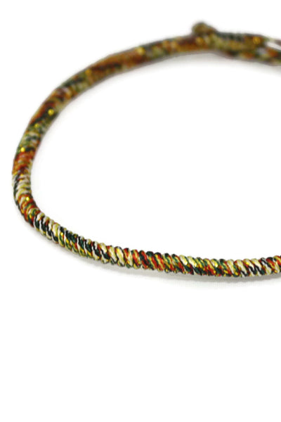 Twist Multi Color Braided Cord Essential Oil Bracelet- Adjustable-Diffuser Bracelet-Destination Oils