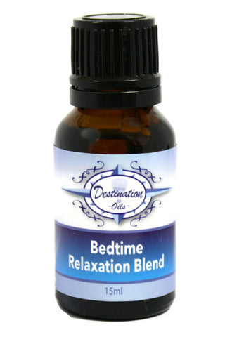 Bedtime - Relaxation and Sleep Essential Oil Blend - 15ml-Essential Oil Blend-Destination Oils