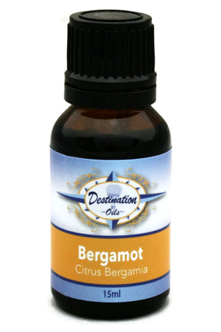 Bergamot Essential Oil ~ 15ml ~ Pure-Single Essential Oils-Destination Oils