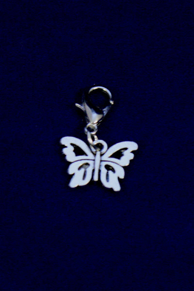 Butterfly Silver Jewelry Charm-Jewelry Charm-Destination Oils