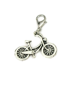 """Bicycle"" Silver Jewelry Charm-Jewelry Charm-Destination Oils"