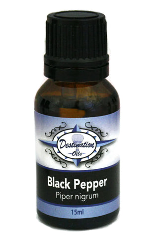 Black Pepper Essential Oil - 15ml-Single Essential Oils-Destination Oils